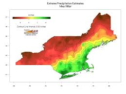 Map Of Northeast Region Of The United States by Extreme Precipitation In New York U0026 New England