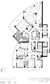 Luxury Townhomes Floor Plans Trump Hollywood Condos Miami Luxury Real Estate Miami Beach