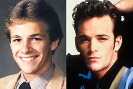 perry high school yearbook luke perry in high school in 1984 and luke perry a high
