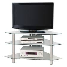 silver tv stand plateau decor 71 inch tv stand in black clear and