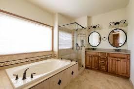 bath remodel artistic portrait wall ornament in clean bathroom