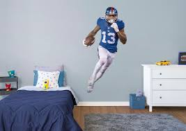 life size odell jr fathead wall decal shop york