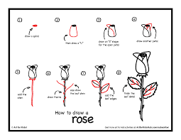 how to draw a rose dr odd