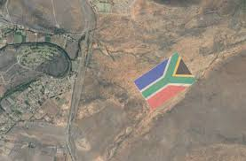 What Colour Is The South African Flag They U0027re Making The Biggest Sa Flag On Earth Literally And You