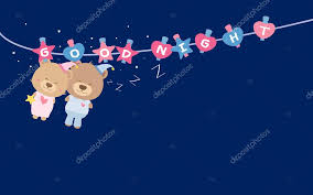 imagenes buenas noches de parejas buenas noches oso de peluche de pareja en línea de ropa archivo