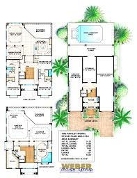 perfect house plans florida 3 bedroom mediterranean modern home