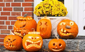 halloween pumpkin wallpaper funny halloween pumpkins wallpaper 2560x1600 26424