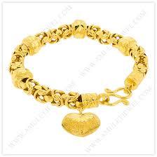 gold charm bracelet chains images Gold heart charm bracelets elegant gold bracelets byzantine jpg
