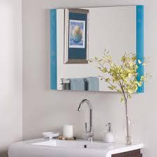 Frameless Bathroom Mirror Nice Frameless Bathroom Mirror