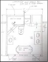 floor plans for bathrooms floor plans for small bathrooms