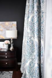 White And Navy Curtains Navy White Master Bedroom Refresh Wants It