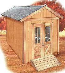 free 8 12 shed plan available for download now