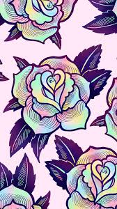 cute halloween phone wallpapers free digital download psychedelic rose wallpaper rose