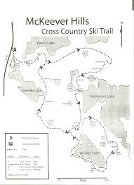 Snowmobile Trail Maps Michigan by Michigan Trail Maps