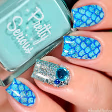 terrific mermaid nails for you to try naildesignsjournal