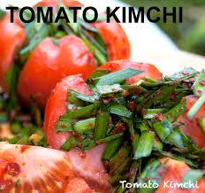cara membuat pancake kimchi tomato kimchi recipe 토마토 김치