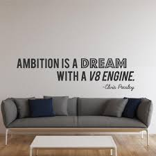 wallboss page 2 wallboss wall stickers wall art stickers uk elvis presley ambition quote wall sticker
