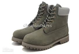 womens boots green leather boots timlan leisure boots aaaa top layer leather
