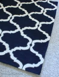 decor amazing home interiors ideas with navy blue area rug in