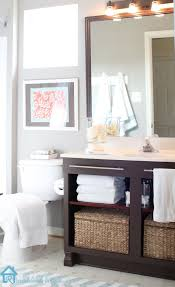 Bathroom Vanities Virginia Beach by Builder U0027s Grade Vanity Revamp Bathroom Vanity Makeover