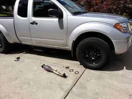 nissan frontier y pipe mod hollowed out secondary cats nissan frontier forum