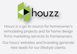 houzz profile web page design for home design firms