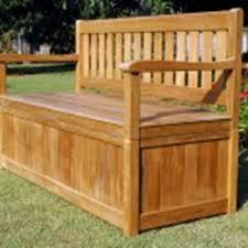 Storage Bench Chair Garden Storage Bench Seat Home Outdoor Decoration