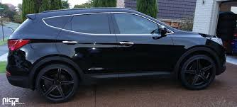 photo 1 hyundai santa fe sport custom wheels advan rsd 20x8 5 et