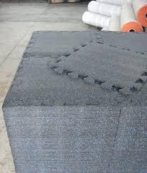 Interlocking Rubber Floor Tiles Interlocking Rubber Floor Tiles Tile 2x2ftx8mm Bluegray 8 Mm