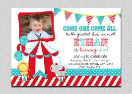 birthday invitation themes circus birthday invitations lilbibby com