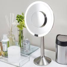 Makeup Mirrors Makeup Mirrors Magnifying Mirrors U0026 Led Mirrors The Container Store