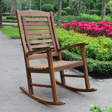 Wooden Rocking Chair Outdoor Belham Living Cottonwood Indoor Outdoor Wood Rocking Chair