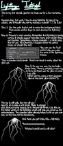 How To Draw Lightning Quick And Simple Tutorial By Bobonishu On