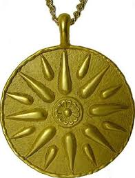 great necklace macedonian of the great royal symbol necklace
