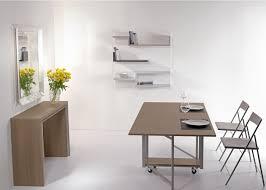 tavoli console archimede set set consolle con tavolo pieghevole 170 x 90 cm e 6