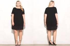 plus fashion find roz u0026ali grommet ponte dress from dressbarn