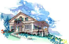 swiss chalet house plans macdonald architecture technology plc