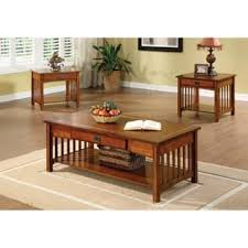 3 piece coffee table set table sets coffee console sofa end tables for less overstock com