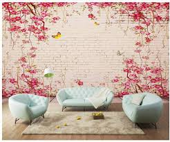 compare prices on pink brick wallpaper online shopping buy low