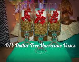 diy dollar tree hurricane vases for christmas youtube