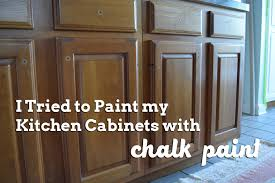 is chalk paint recommended for kitchen cabinets painting kitchen cabinets attempt 1 always things