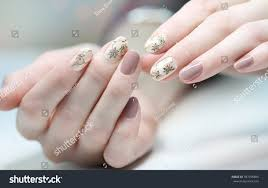 nail design manicure nail paint beautiful stock photo 387296884