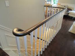 remodelaholic updating an oak stair or handrail to white and
