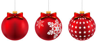 beautiful red christmas balls png clip art image gallery