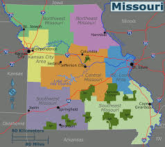 Missouri Road Map Missouri U2013 Travel Guide At Wikivoyage