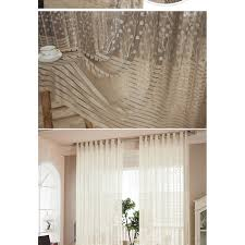 modern shade net window sheer curtains for living room