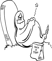 ghost kids coloring pages coloring
