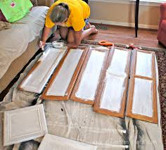 Paint Kitchen Cabinets Painting Kitchen Cabinets In One Day Ocean Front Shack