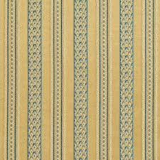 Upholstery Fabric Vancouver E603 Striped Red Gold And Green Damask Upholstery Fabric By The