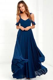 romantic fantasy navy blue maxi dress blue maxi dresses blue